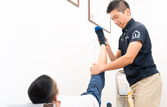 現役プロアスリートの施術経験も豊富で、子供から大人まで、身体の使い方指導やスポーツ育成メンテナンスが可能!